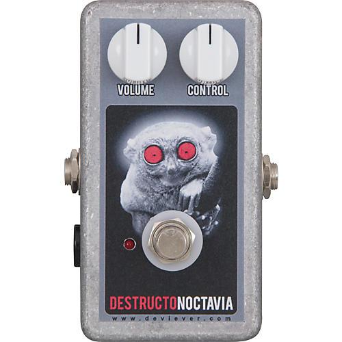 Devi Ever Destructo Noctavia Fuzz Guitar Effects Pedal-thumbnail