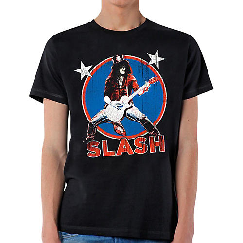 Slash Deteriorated Stars T-Shirt-thumbnail