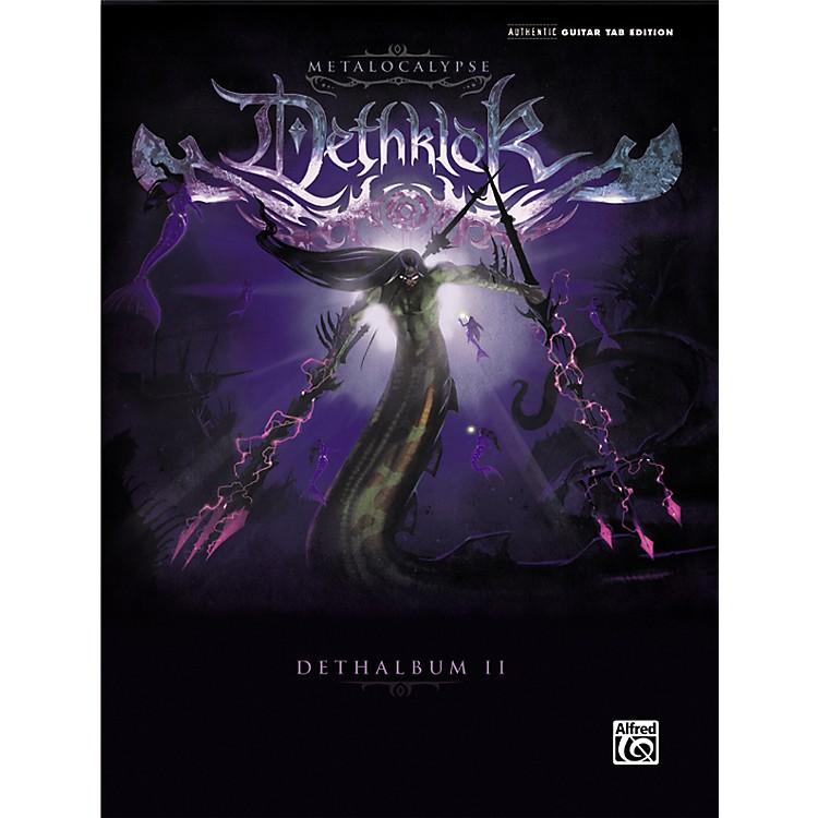 AlfredDethklok Dethalbum II Guitar Tab Book