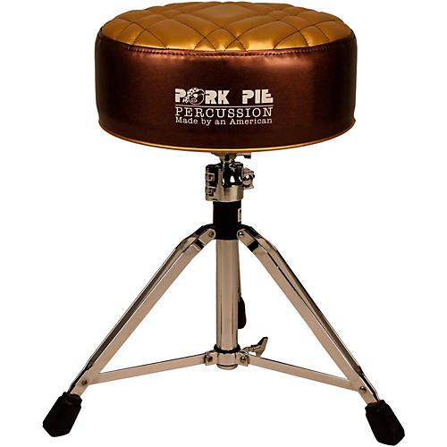 Pork Pie Deuce Half Tuck Round Drum Throne-thumbnail