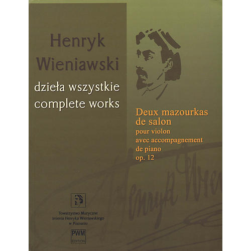 PWM Deux Mazourkas de salon, Op. 12 (Henryk Wieniawski Complete Works Series A, Vol. 18) PWM Series Softcover-thumbnail