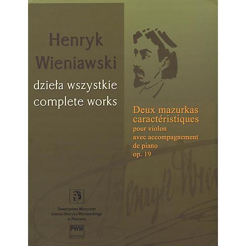 PWM Deux mazurkas caractéristiques pour violon, op. 19 PWM Series Softcover-thumbnail