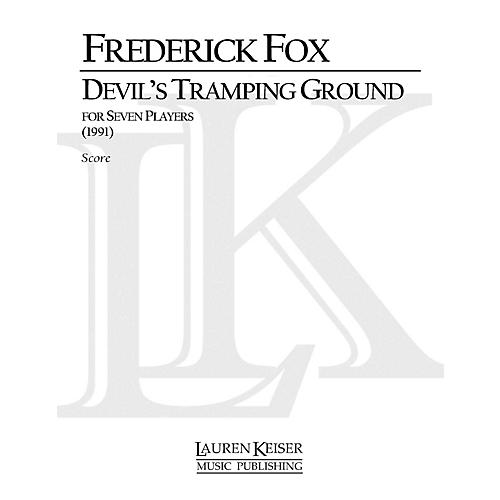 Lauren Keiser Music Publishing Devil's Tramping Ground LKM Music Series Composed by Frederick Fox