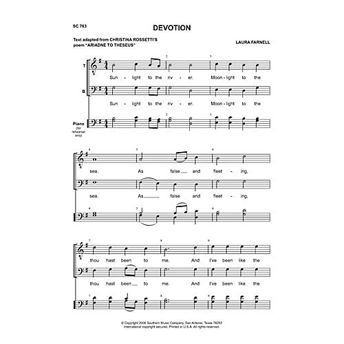 Southern Devotion TB Composed by Laura Farnell-thumbnail
