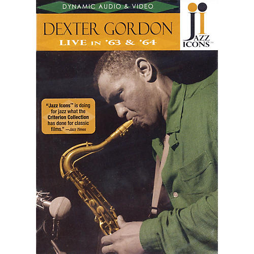 Jazz Icons Dexter Gordon - Live in '63 and '64 Live/DVD Series DVD Performed by Dexter Gordon-thumbnail