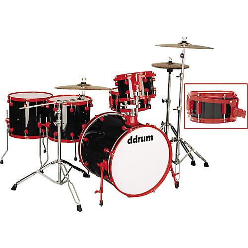 Ddrum Diablo Punx 5-Piece Drum Set with Side Snare Vicious-thumbnail