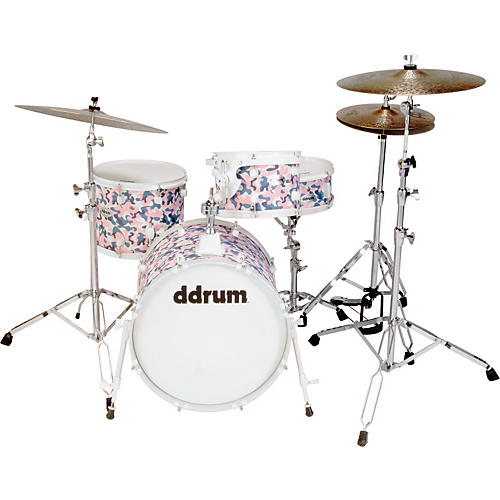 ddrum Diablo She-Punx 4 Piece Drum Set