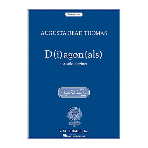 G. Schirmer D(i)agon(als) (for Solo Clarinet) Woodwind Solo Series-thumbnail
