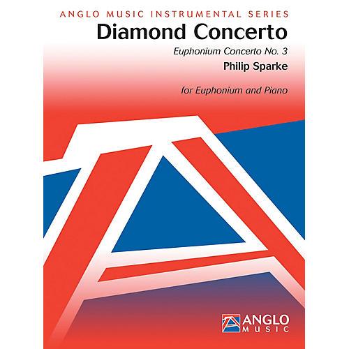 Hal Leonard Diamond Concerto (euphonium Concerto No3) Euphonium/piano Part Concert Band