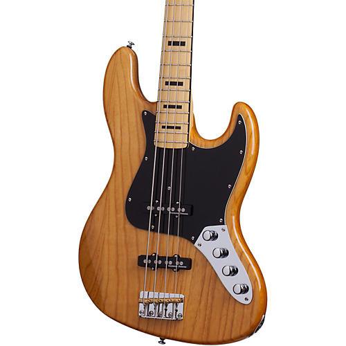 Schecter Guitar Research Diamond-J Plus Electric Bass Guitar Satin Aged Natural