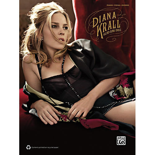 Alfred Diana Krall - Glad Rag Doll P/V/G Book-thumbnail