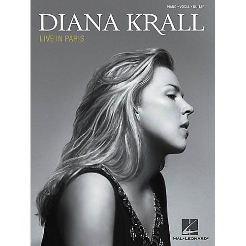 Hal Leonard Diana Krall - Live in Paris Piano/Vocal/Guitar Artist Songbook-thumbnail
