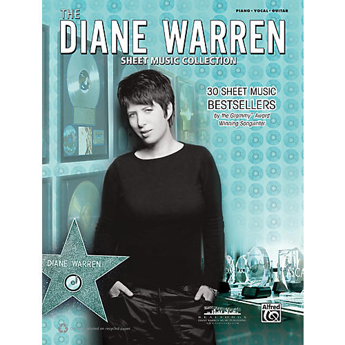 Alfred Diane Warren - Sheet Music Collection Book