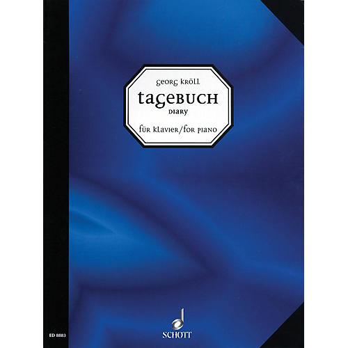 Schott Diary for Piano (16 New Pieces for Piano) Schott Series