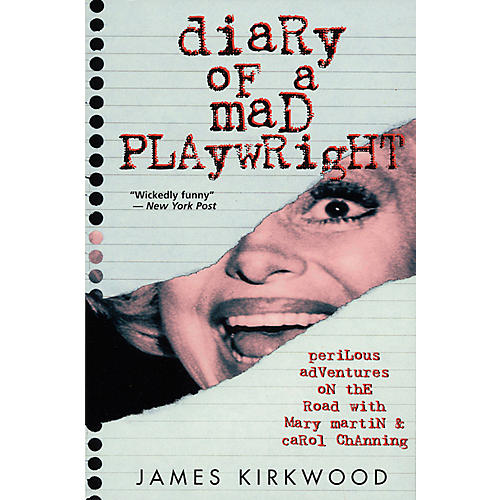 Applause Books Diary of a Mad Playwright Applause Books Series Softcover Written by James Kirkwood-thumbnail