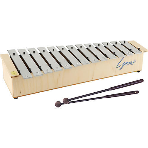 Lyons Diatonic Alto Glockenspiel with Mallets