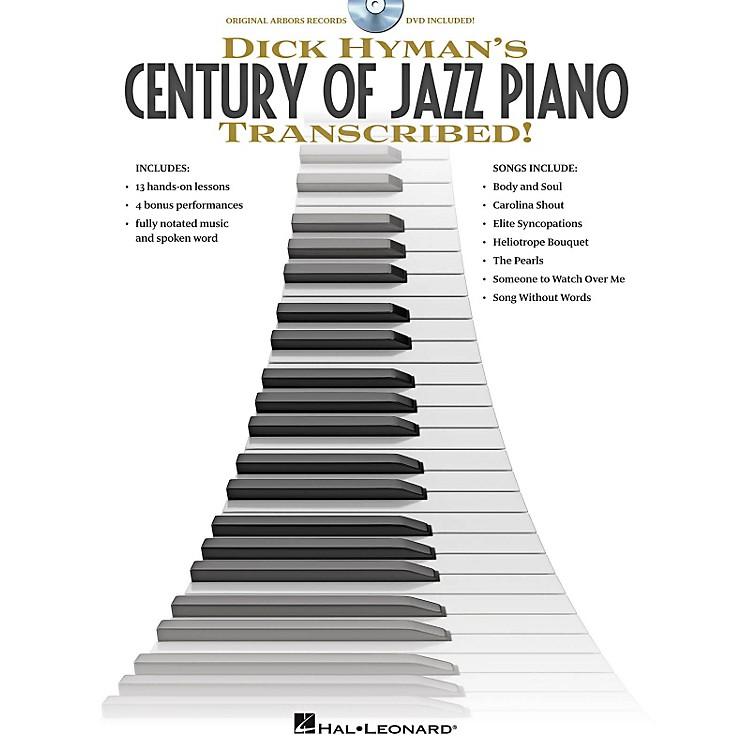 Hal LeonardDick Hyman's Century Of Jazz Piano - Transcribed!  Instructional Book/DVD