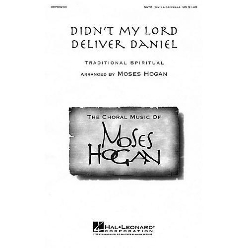 Hal Leonard Didn't My Lord Deliver Daniel SATB DV A Cappella arranged by Moses Hogan-thumbnail