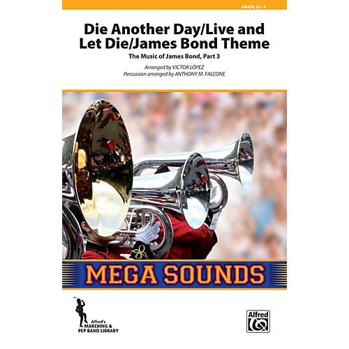 Alfred Die Another Day / Live and Let Die / James Bond Theme Grade 3 (Medium)-thumbnail
