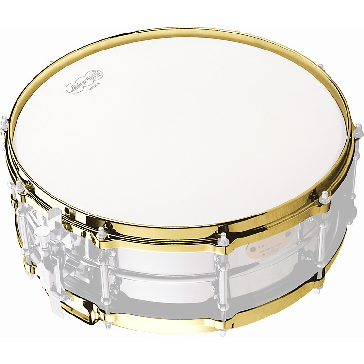 LudwigDie-Cast Snare Drum Hoop BottomChrome14 Inches