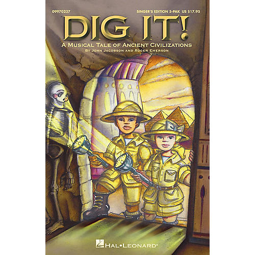 Hal Leonard Dig It!  A Musical Tale of Ancient Civilizations (Musical) Singer's Edition 5-Pak-thumbnail