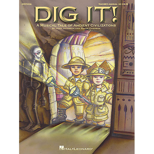 Hal Leonard Dig It! (A Musical Tale of Ancient Civilizations) PREV CD Composed by Roger Emerson-thumbnail
