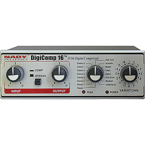 Nady DigiComp 16 Stereo Digital Compressor