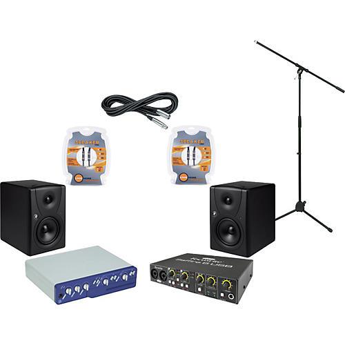 Mackie Digidesign Mbox 2 and Mackie MR5 Recording Package