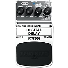 Behringer Digital Delay DD600 Guitar Effects Pedal