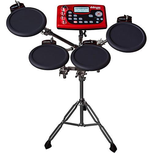 open box ddrum digital drum 4 pad sample station musician 39 s friend. Black Bedroom Furniture Sets. Home Design Ideas