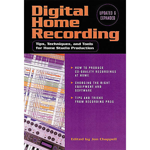 Hal Leonard Digital Home Recording, 2nd Edition Book