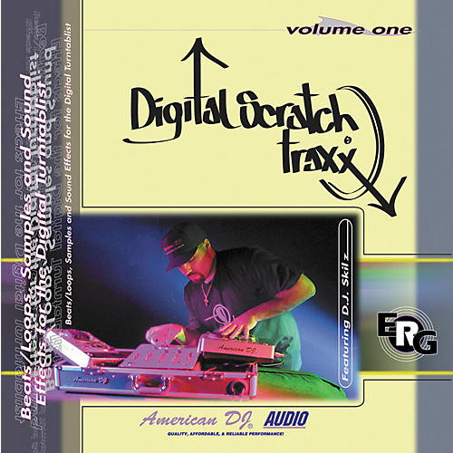 American DJ Digital Scratch Traxx Sample CD Vol 1