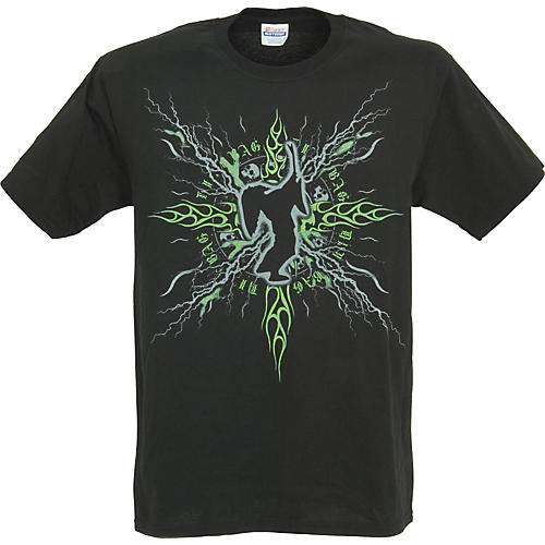 Dimebag Hardware Dime Voltage T-Shirt-thumbnail