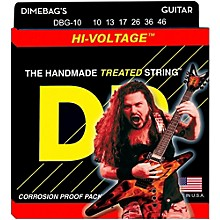 DR Strings Dimebag Darrell DBG-10 Medium Hi-Voltage Electric Guitar Strings