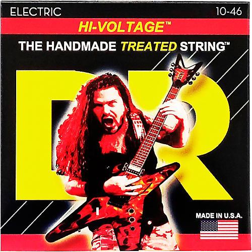 DR Strings Dimebag Darrell DBG-10 Medium Hi-Voltage Electric Guitar Strings