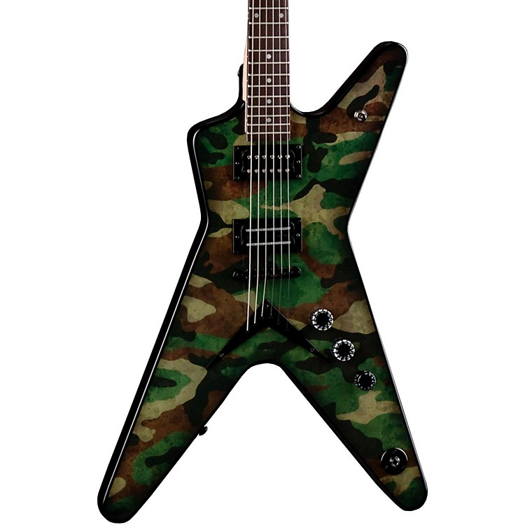 Dean Dimebag Dime Camo ML Electric Guitar Custom Graphic