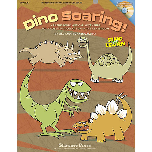 Shawnee Press Dino Soaring! REPRO COLLECT UNIS BOOK/CD Composed by Jill Gallina-thumbnail