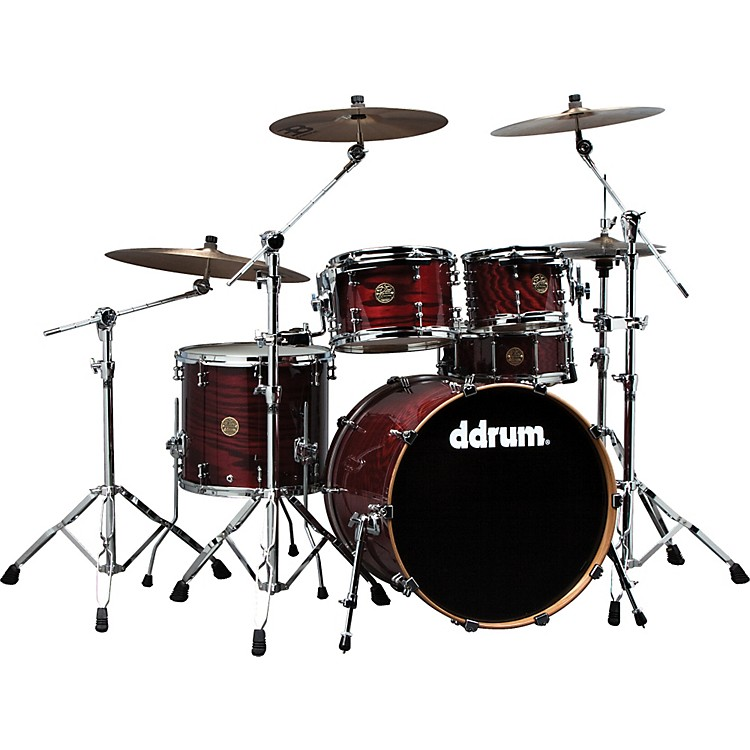 ddrum Dios Ash 5-Piece Shell Pack Cherry Red