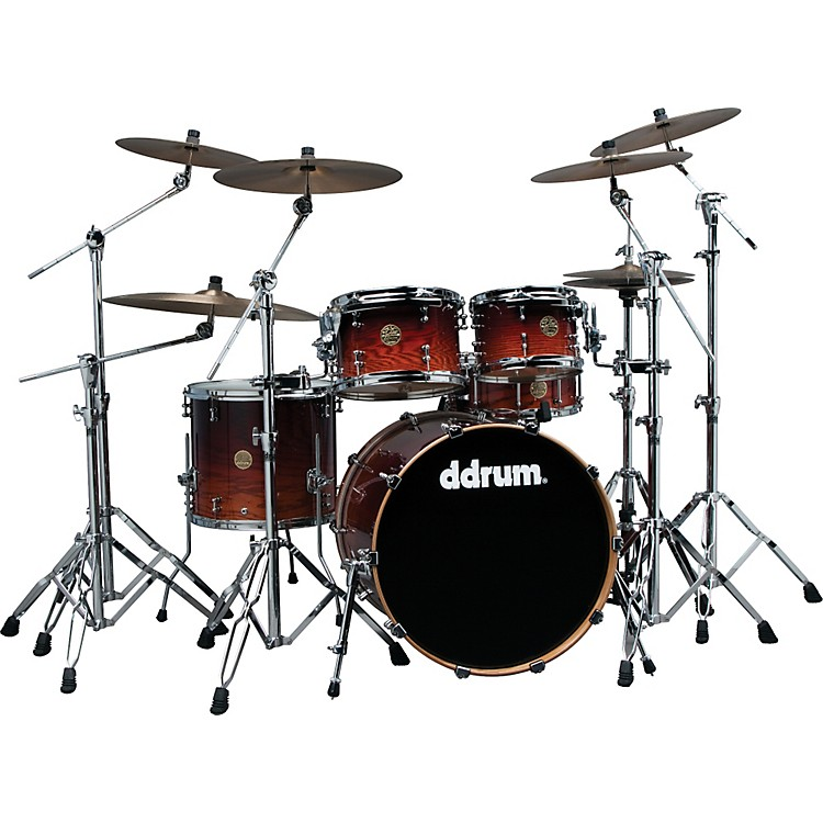ddrum Dios Ash 5-Piece Shell Pack Red Burst