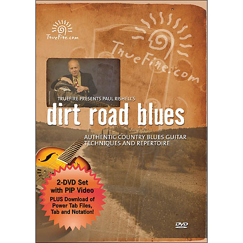 Hal Leonard Dirt Road Blues - Instructional Guitar 2-DVD Pack Featuring Paul Rishell