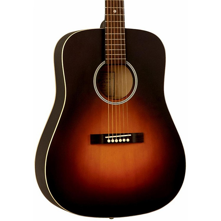 Recording King Dirty Thirties Dreadnought Solid Top Satin Sunburst