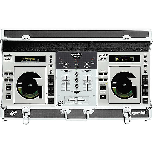Gemini Disc-O-Mix 4.0 Top-Load CD Player Package