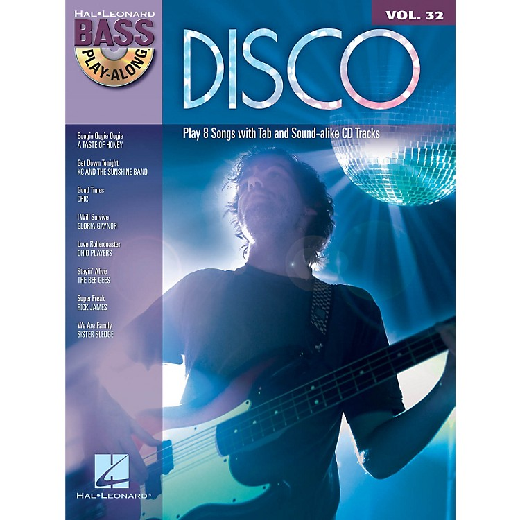 Hal Leonard Disco - Bass Play-Along Volume 32 (Book/CD)