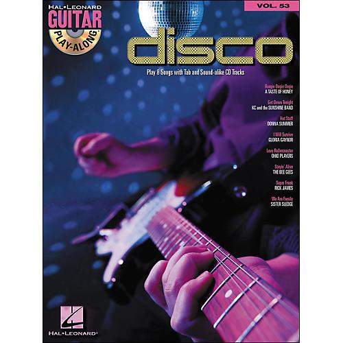 Hal Leonard Disco - Guitar Play-Along Volume 53 (Book/CD)-thumbnail