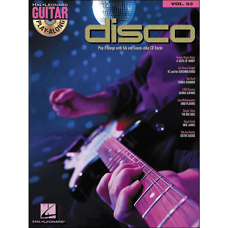 Hal Leonard Disco - Guitar Play-Along Volume 53 (Book/CD)