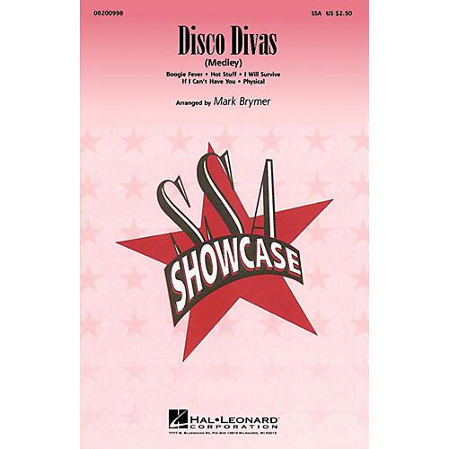 Hal Leonard Disco Divas (Medley) SSA arranged by Mark Brymer