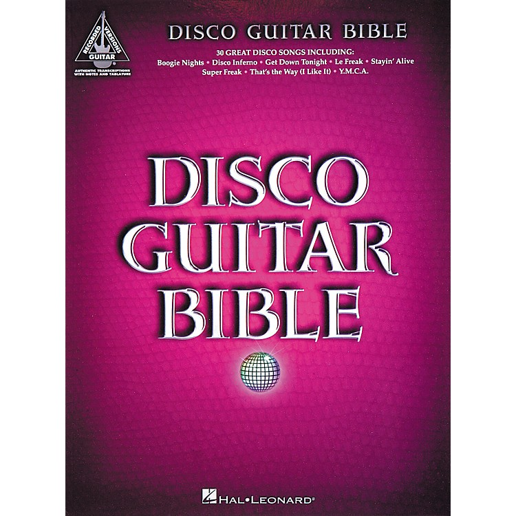 Hal Leonard Disco Guitar Bible Tab Songbook