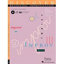 Faber Piano Adventures Discover Beginning Improvisation Primer Book - Faber Piano