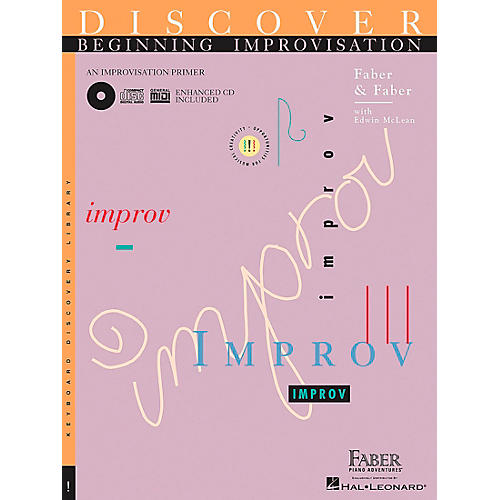 Faber Piano Adventures Discover Beginning Improvisation Primer Book - Faber Piano-thumbnail