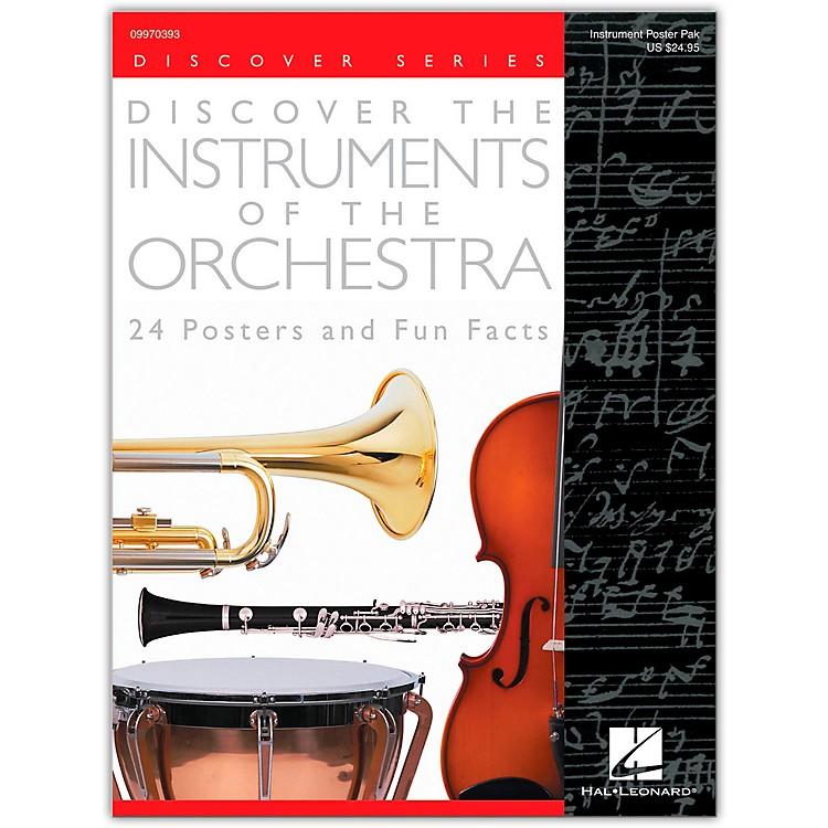 Hal Leonard Discover the Instruments of the Orchestra Posters